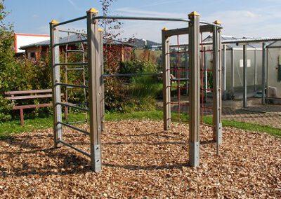 Teil des Schulgarten